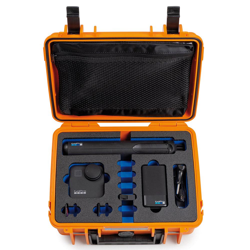 B/&W Outdoor Case 1000 GoPro Einsatz für HERO5-7