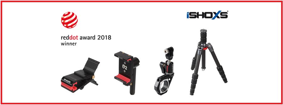 iSHOXS Halterungen gewinnen Red Dot Award