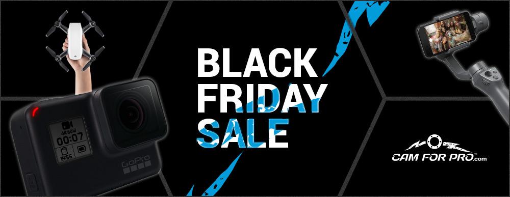 Black Friday mit bis zu 70% Rabatt bei camforpro