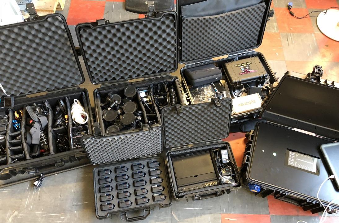 Verleih-Equipment von camforpro für professionelle GoPro Aufnahmen