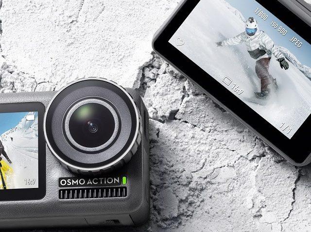 DJI Osmo Action ist die erste Action Kamera aus dem Hause DJI