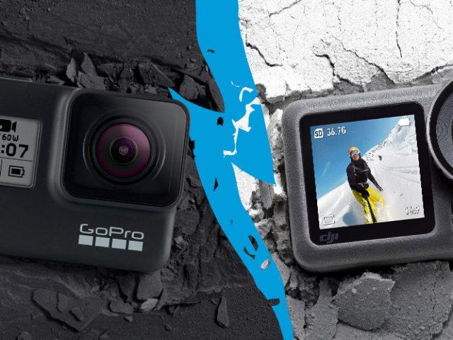 Welche Actioncam ist die Beste- GoPro HERO7 Black oder DJI Osmo Action?
