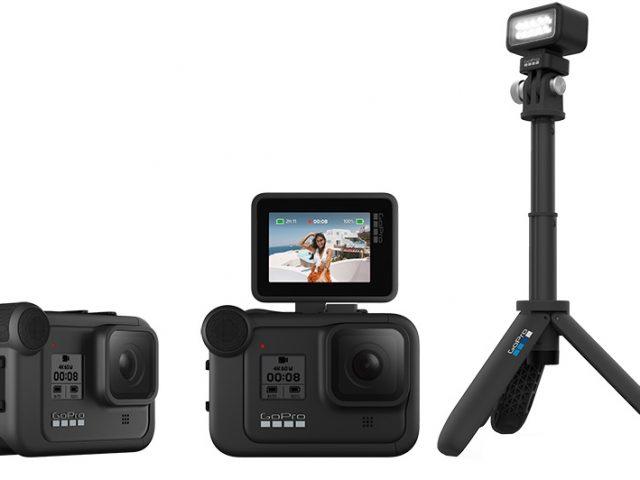 GoPro HERO8 Black und GoPro MAX gehen mit neuen Funktionen und Mod Addons an den Start