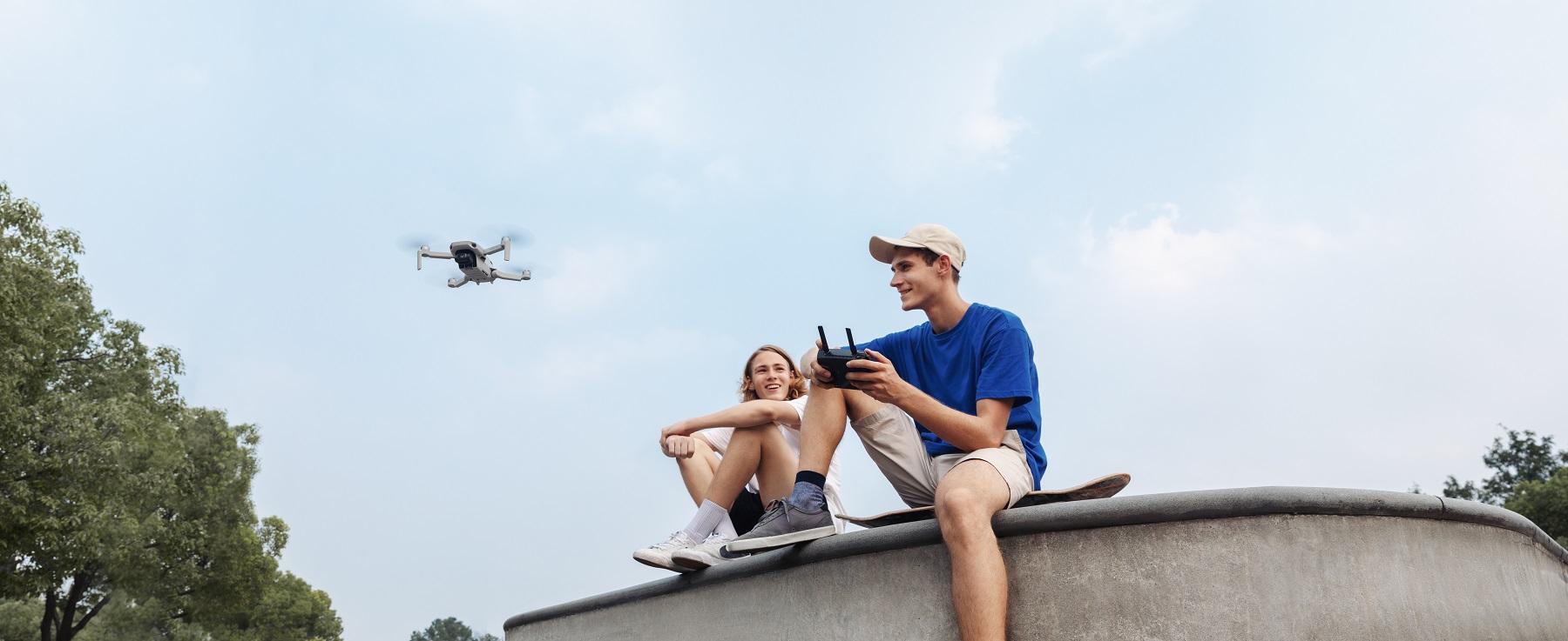 Die DJI Mavic Mini macht tolle Luftaufnahmen im Mini-Format