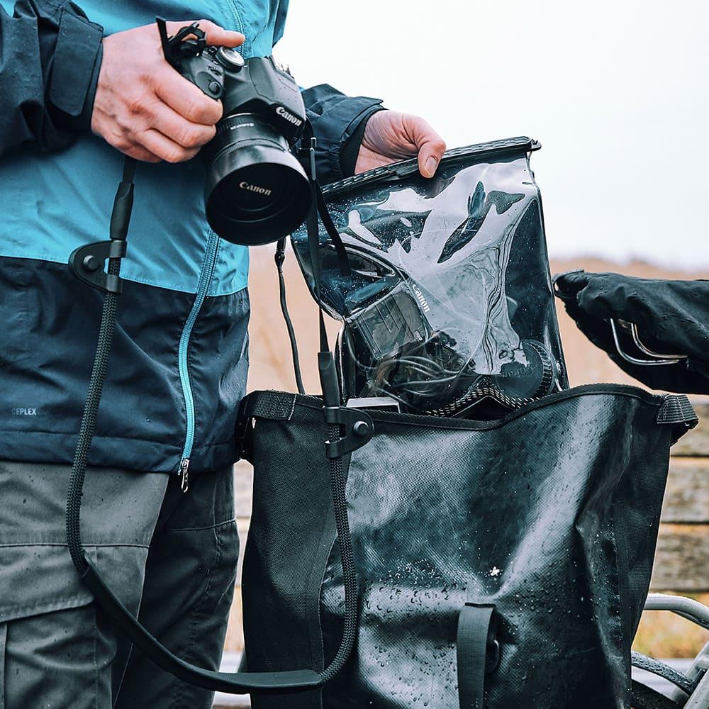Equipment gut geschützt mit einer Hermetic Bag