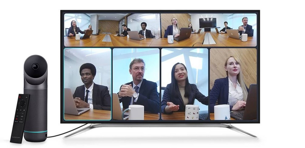 Kandao Meeting Pro Webcam ermöglicht professionelle Webmeetings