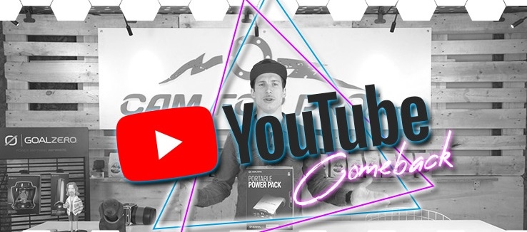 camforpro relauncht seinen YouTube Channel
