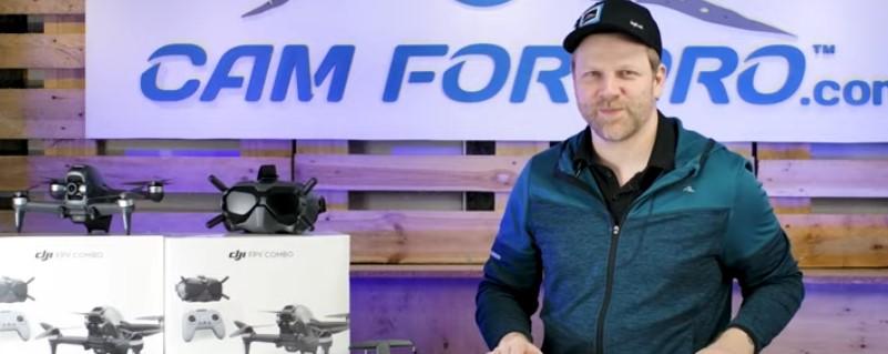 DJI FPV Test auf dem camforpro YouTube Channel