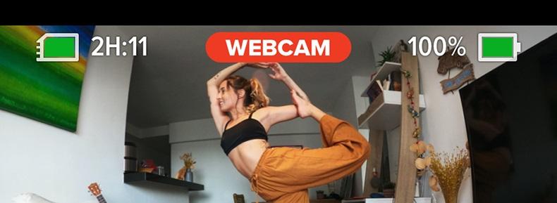 Yoga-Lesson mit GoPro als Webcam übertragen