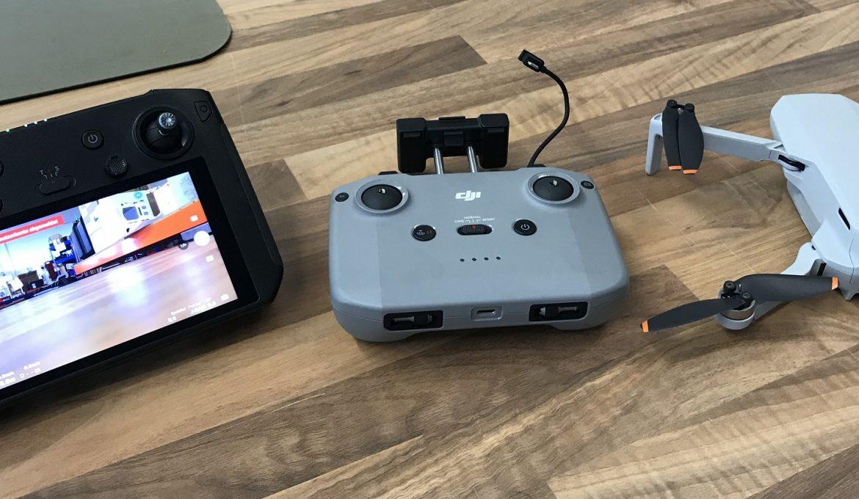 DJI Mini 2 funktioniert jetzt auch mit Smart Controller