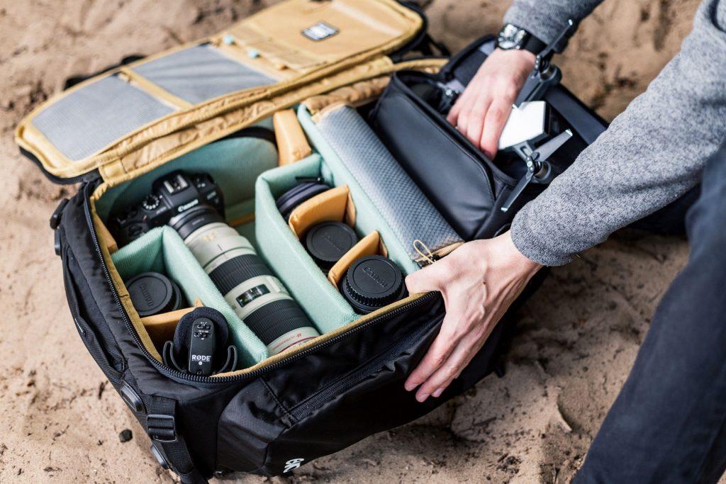 EVOC Fotorucksack 26L mit Kamera-Equipment