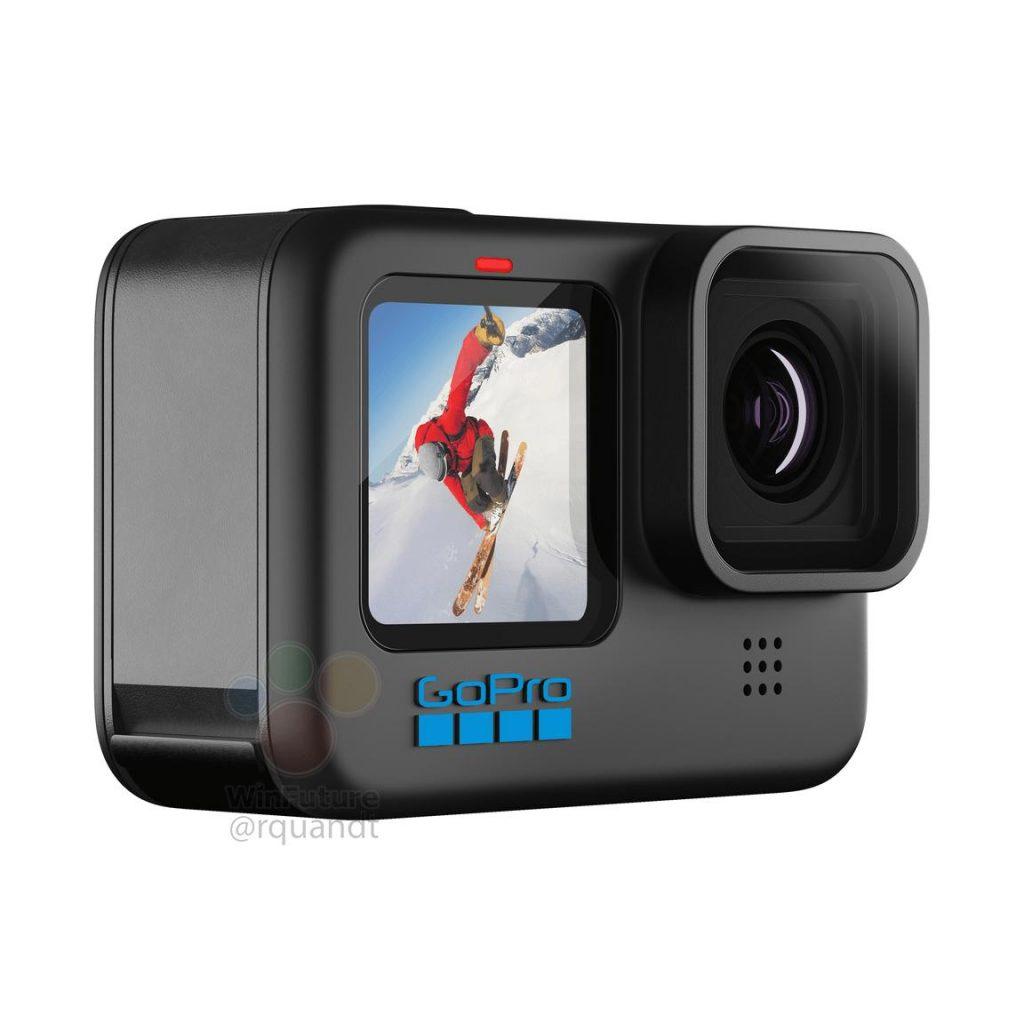 GoPro HERO10 Black Kamera Frontdisplay
