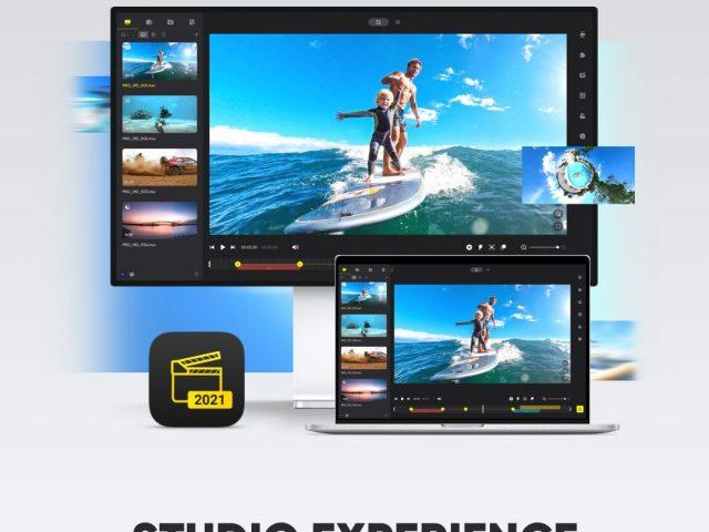 Update für Insta360 Studio Bildbearbeitungsprogramm